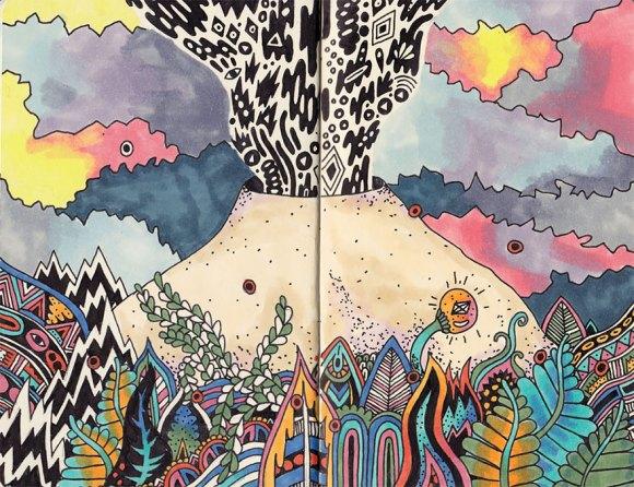 Desenhos detalhados e coloridos 6