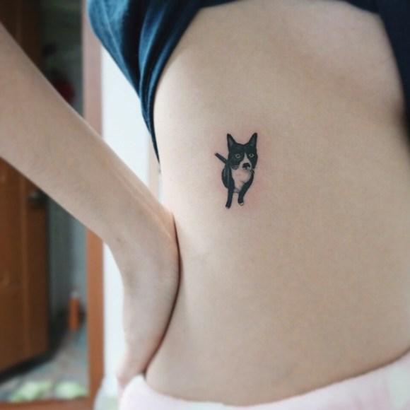 Tatuagens de gatos 8