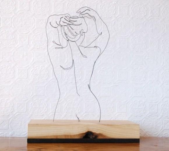 Esculturas de arame 2