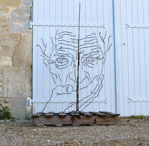 Esculturas de arame 9