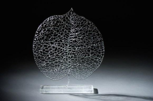 Esculturas de vidro - formas marinhas 7