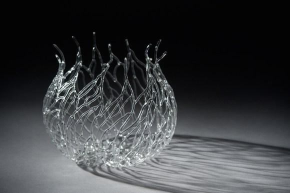 Esculturas de vidro - formas marinhas 9