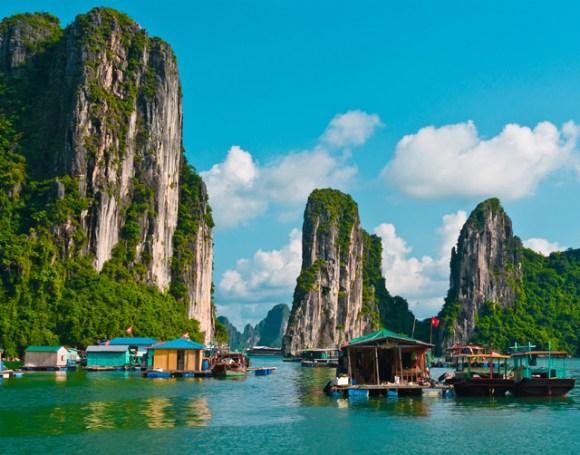 Vietnã - arquipélago de Halong Bay 1