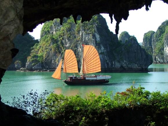 Vietnã - arquipélago de Halong Bay 5