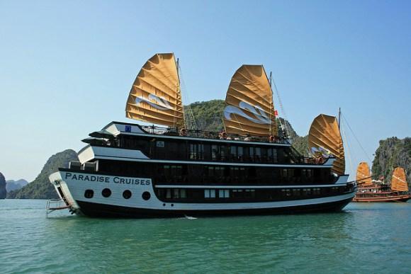 Vietnã - arquipélago de Halong Bay 6