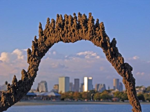 Esculturas de areia diferentes 9
