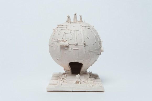 Esculturas futurísticas em cerâmica 11 - Marc Domage