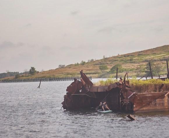 Grafite navio naufragado 5
