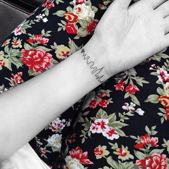 Tatuagens minimalistas 10