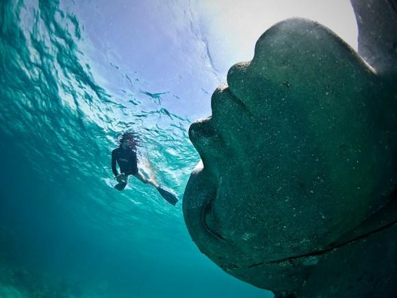 Maior escultura submersa do mundo 2