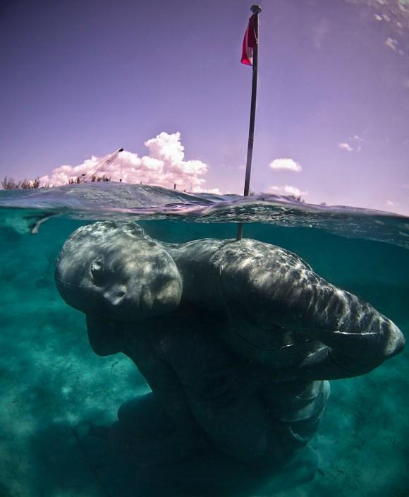 Maior escultura submersa do mundo 3