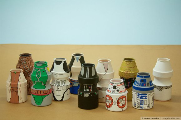 Yakult Parade Star Wars - personagens