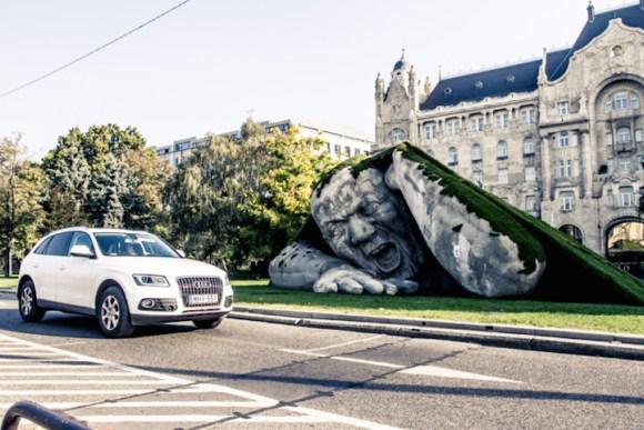 Escultura de um gigante 3