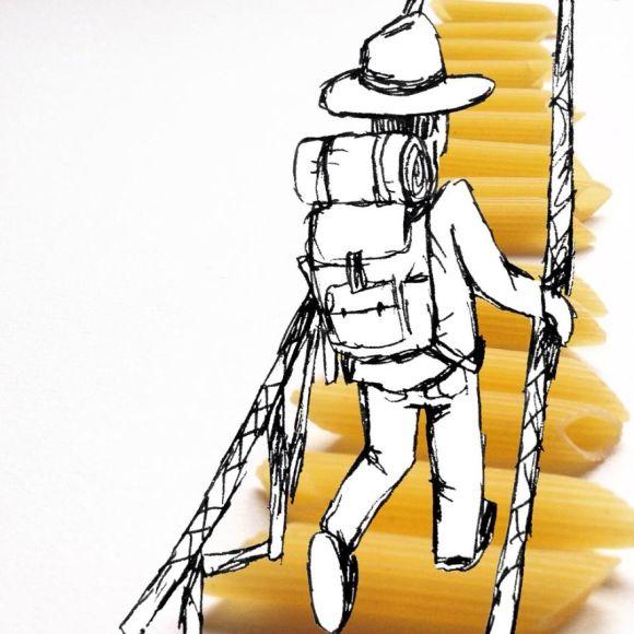 Objetos cotidianos ilustrações 5