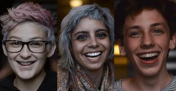 Vídeo mostra a reação espontânea de estudantes ao serem chamados de bonitos