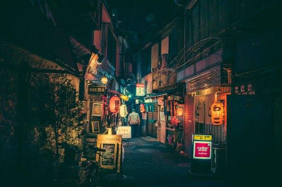 Fotografias noturnas de Tóquio 1