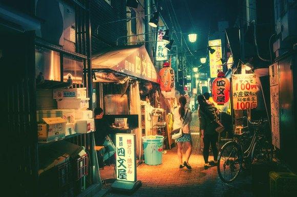 Fotografias noturnas de Tóquio 12
