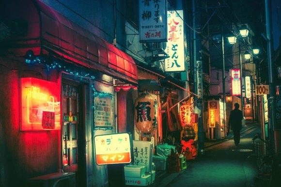 Fotografias noturnas de Tóquio 2
