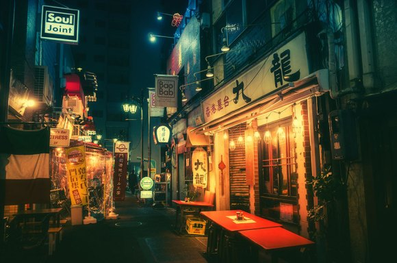 Fotografias noturnas de Tóquio 7
