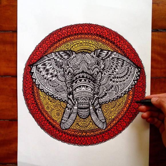 Ilustrações de artista brasileiro 1