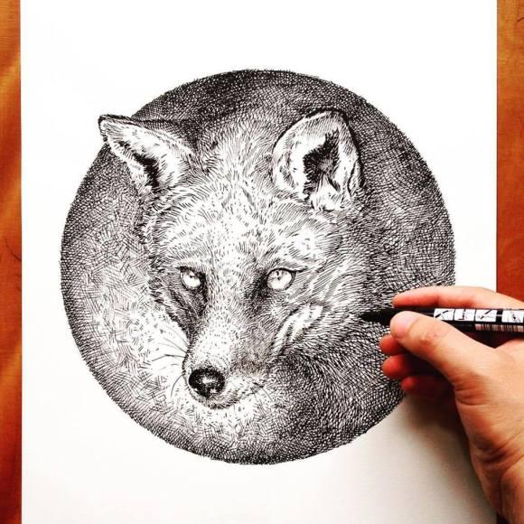 Ilustrações de artista brasileiro 5