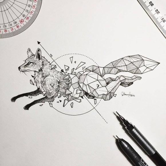 animais e geometria 2