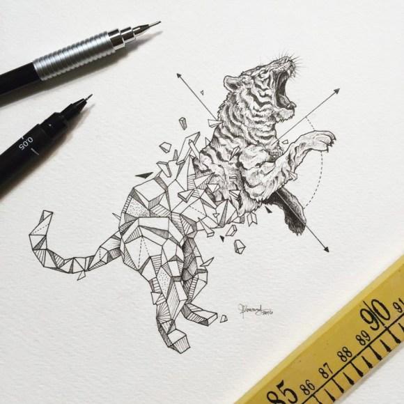 animais e geometria 6
