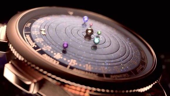 Relógio planetário 4