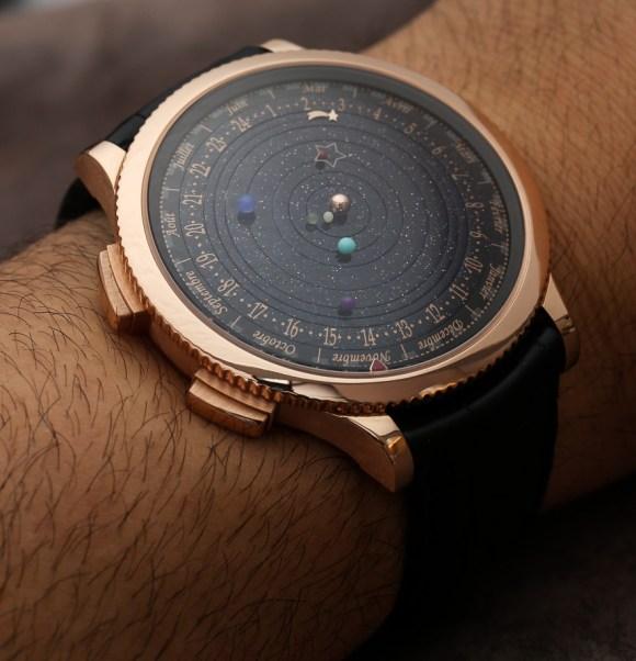 Relógio planetário 5