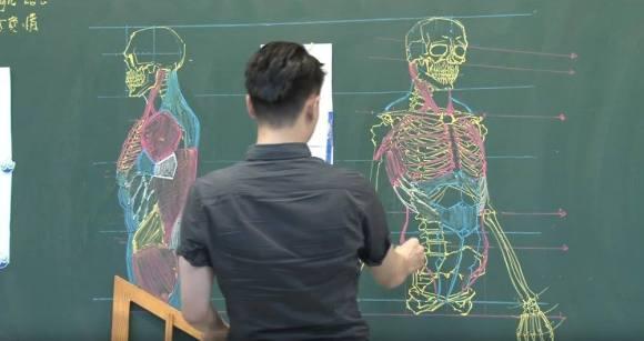 Desenhos de anatomia 1