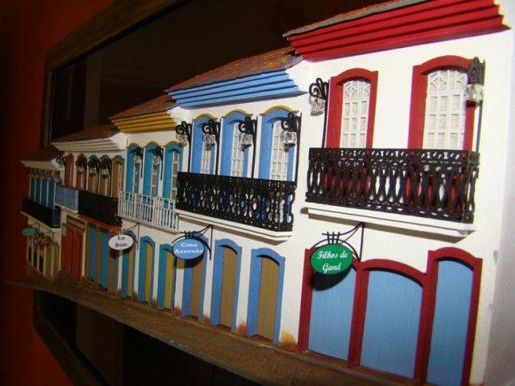 Miniaturas de cenários mineiros - maquetes de Minas Gerais 7