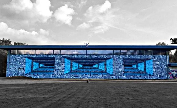 Grafite 3D parece portal 13