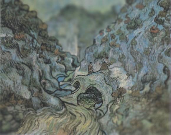Van Gogh em tiltshift 16