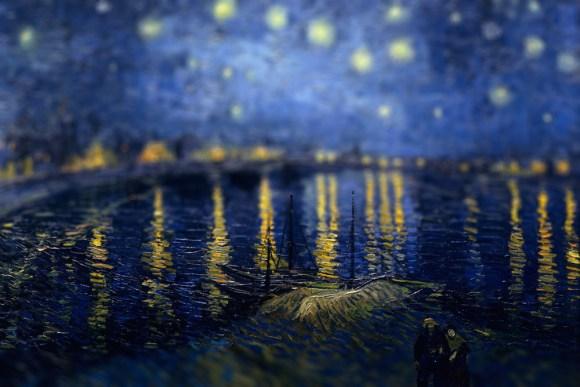 Van Gogh em tiltshift 7