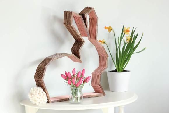 Estátua de coelho