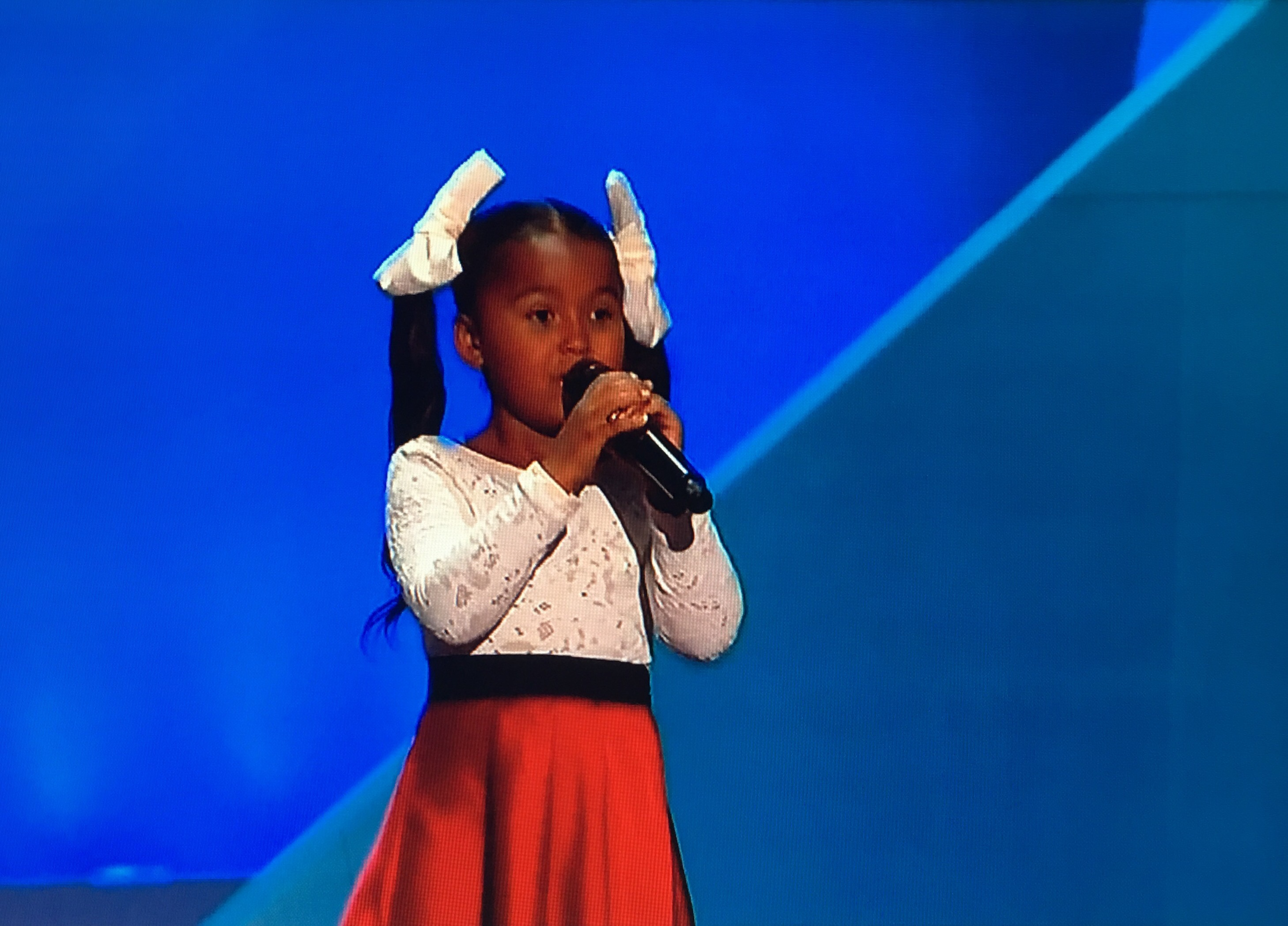 REPUBLICAN CONVENTION: A beautiful little girl named Heavenly Joy sang like an angel