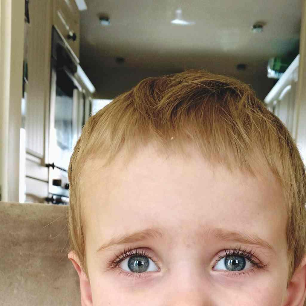 boy eyes
