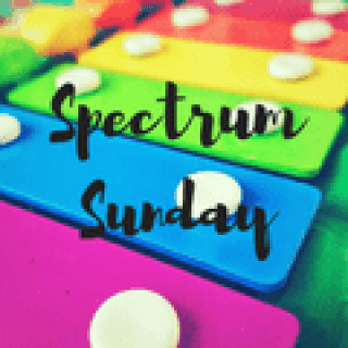 Spectrum Sunday blogger linky badge