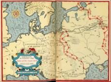 War and Peace Napoleon Russia 1812 comparison to Hitler's invasion 1941-42