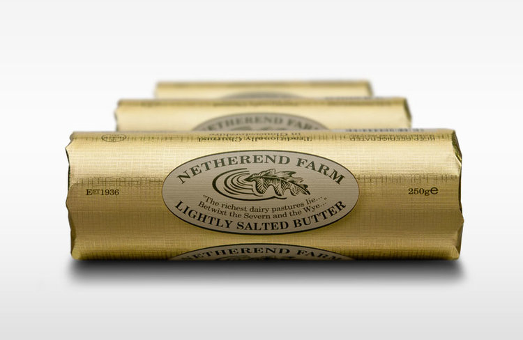 Netherend Farm Salted Butter 250g Roll
