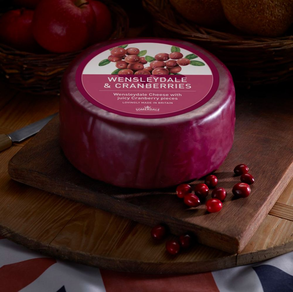 Somerdale Wensleydale And Cranberries