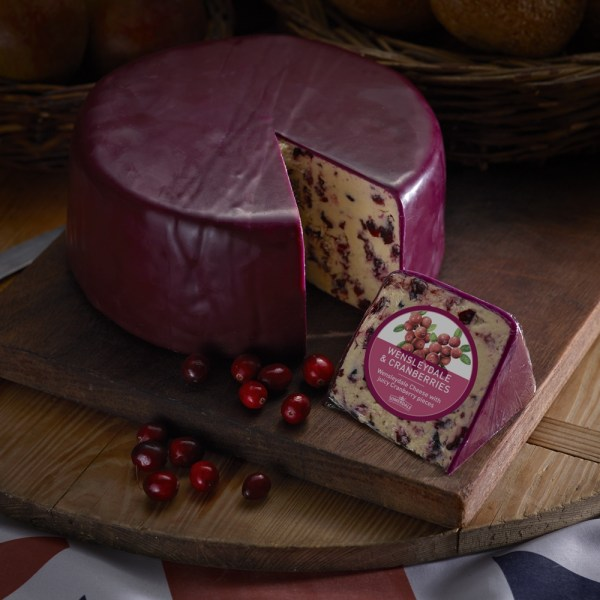 Somerdale Wensleydale and Cranberry - Deli Wheel With Repack Labels