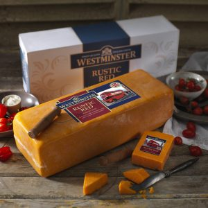 Westminster Rustic Red Cheddar Block