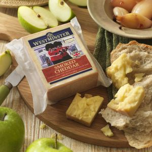 Westminster Smoked Cheddar Retail Pack - USA Branding
