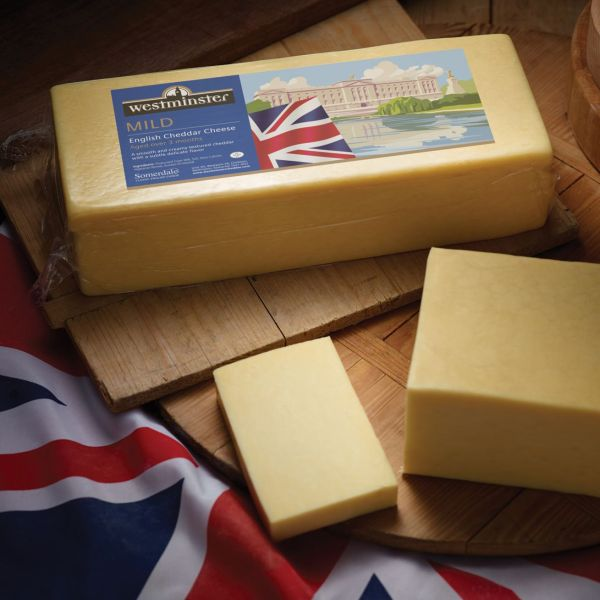 Westminster Mild English Cheddar Block