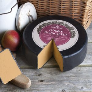Somerdale Double Gloucester 3kg Waxed Wheel