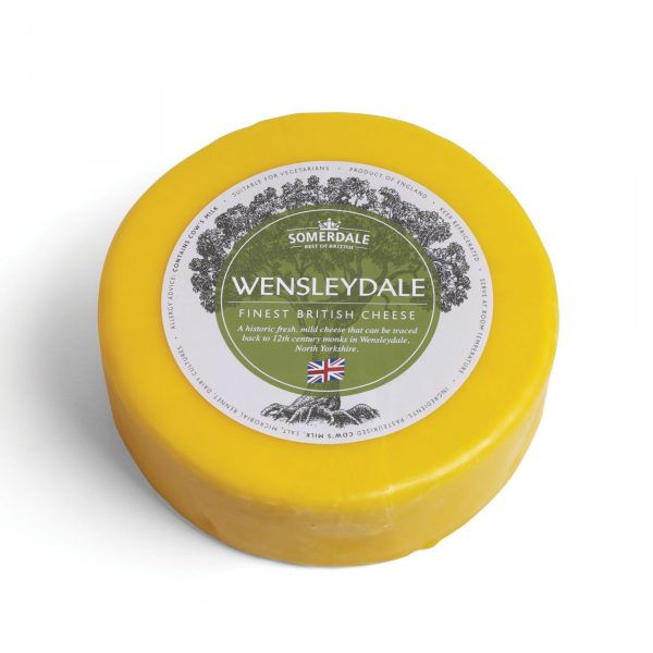 Somerdale Wensleydale - 3kg Waxed Deli Wheel