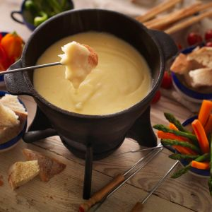 The Ultimate Cheddar Cheese Fondue Recipe