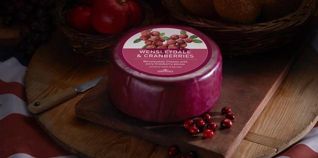Wensleydale and Cranberries (1)