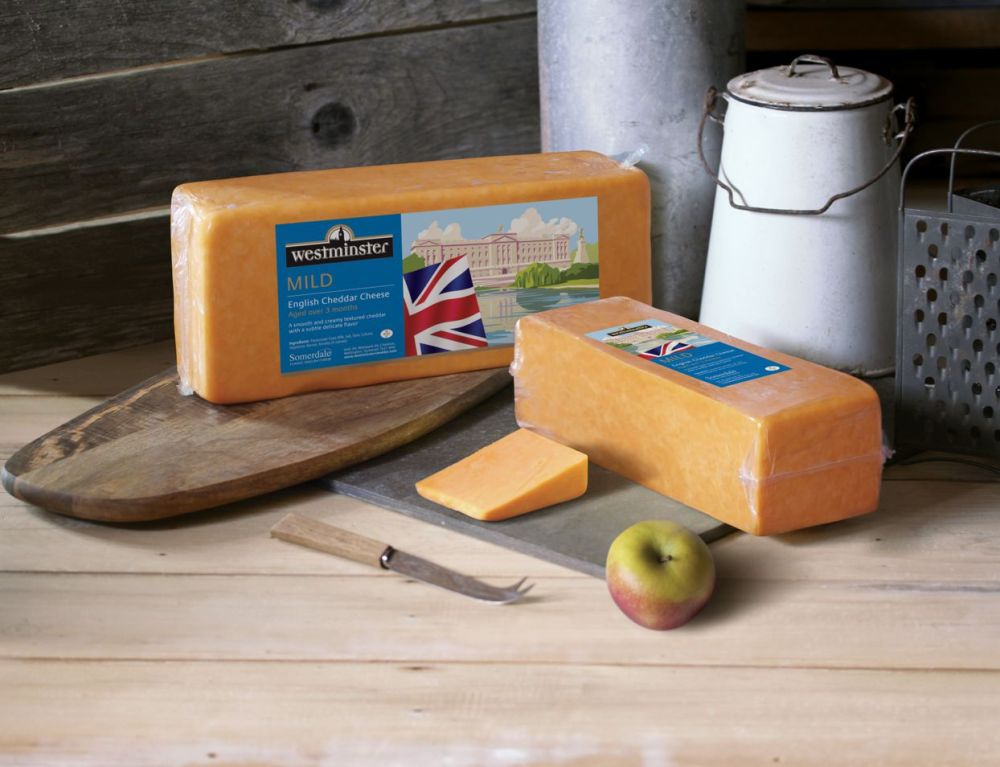Westminster Mild Coloured Cheddar Block Cheese
